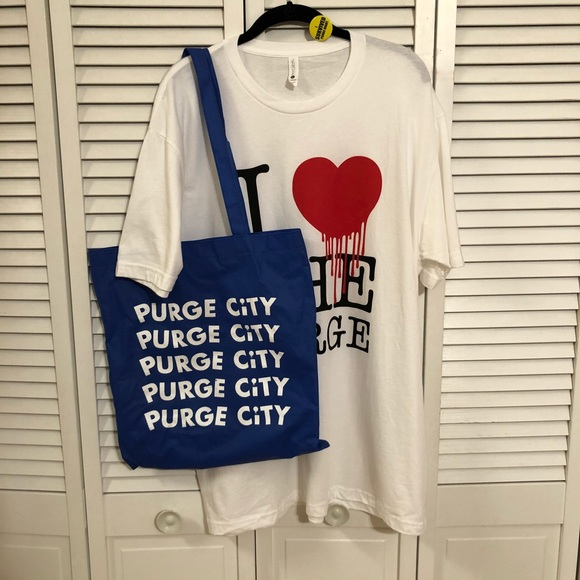 Other - The Purge Pack: Tee, Pin, Tote & Seeds